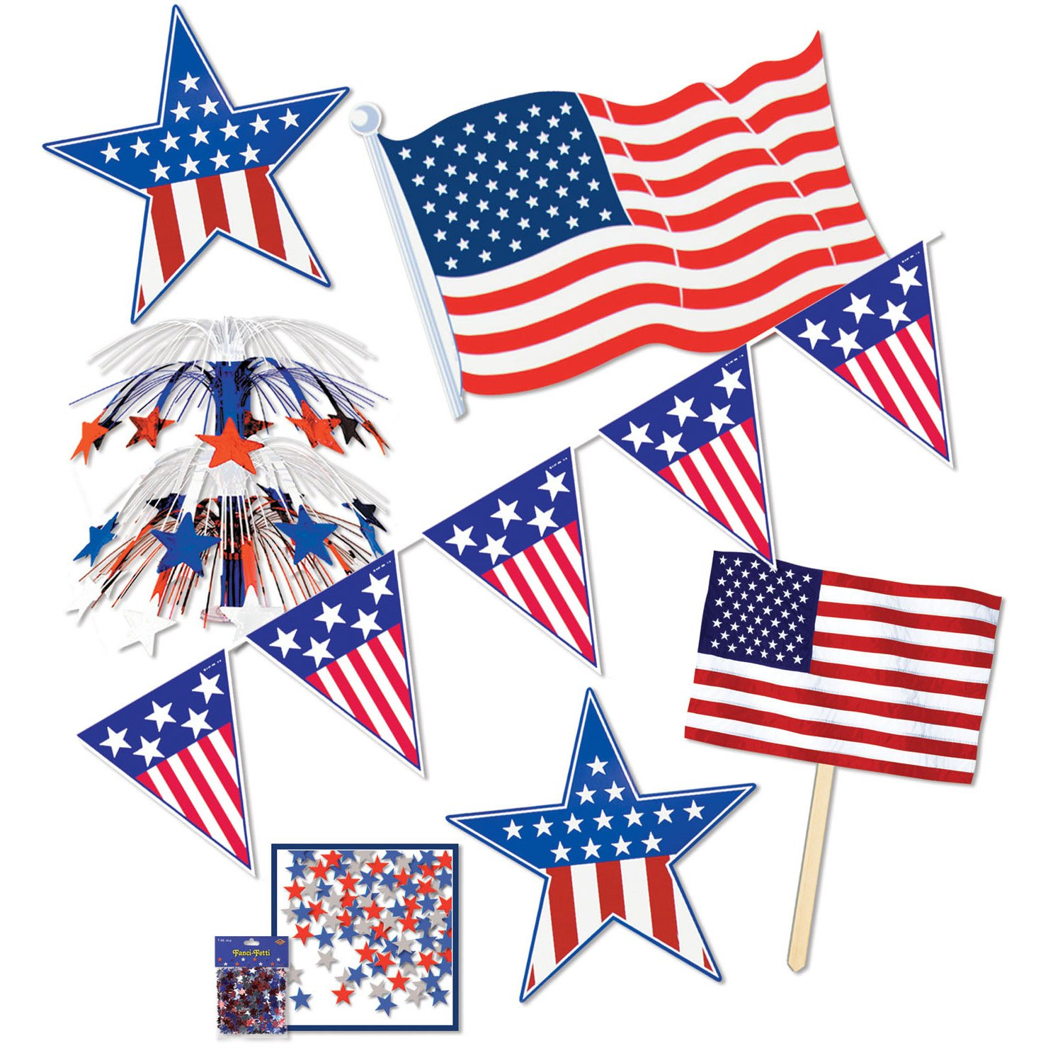 Fourth of july party decorating kits fourth of july wikii for 4th of july party decoration