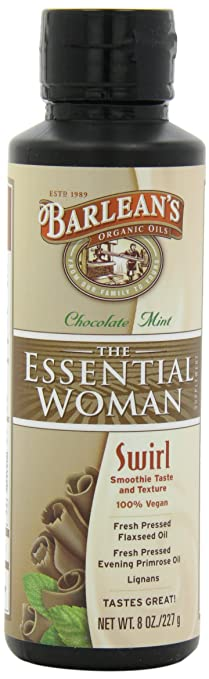 Barlean's Chocolate Mint Essential Woman Swirl, 8-Ounce