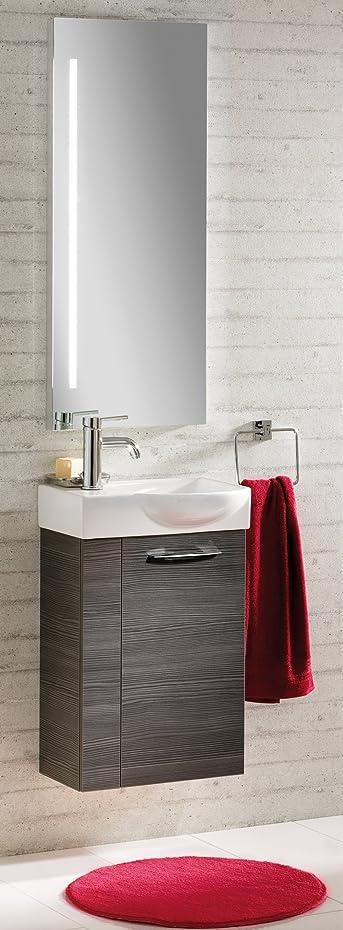 Fackelmann vadea Set di 3accessori da bagno per lavello/lavabo/Specchio