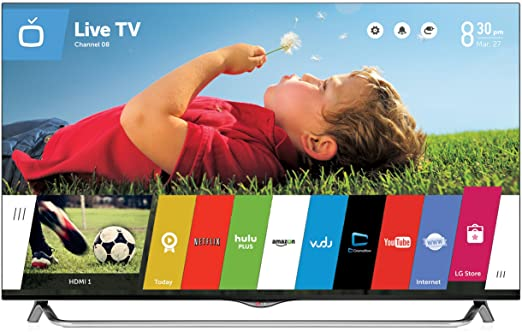 A Review of the Design, Smart TV and 3 D Features of LG 55UB8500
