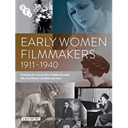 Early Woman Filmmakers Collecton set [Blu-ray]