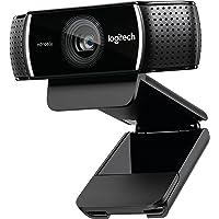 Logitech C920 1080p HD Pro Webcam (Black)