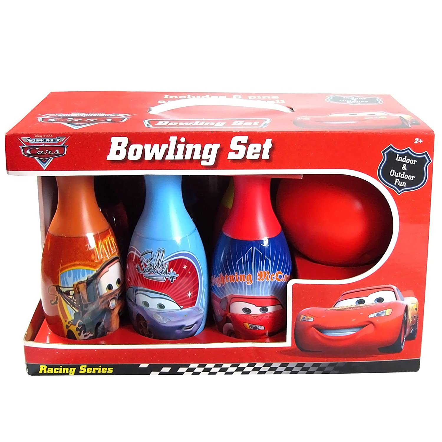 Disney's Cars 2 Bowling Set Party Accessory