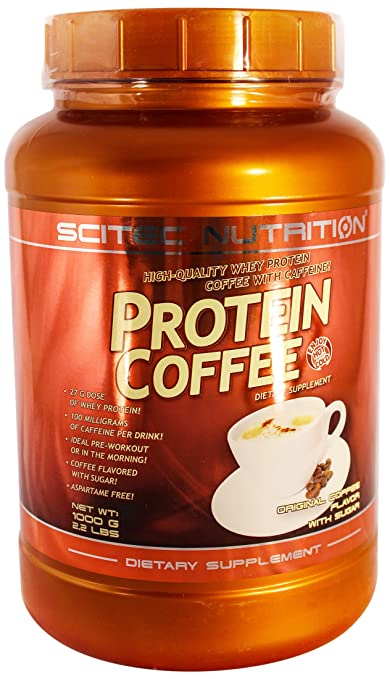 Scitec Nutrition Protein Coffee mit Zucker, 1er Pack (1 x 1 kg)