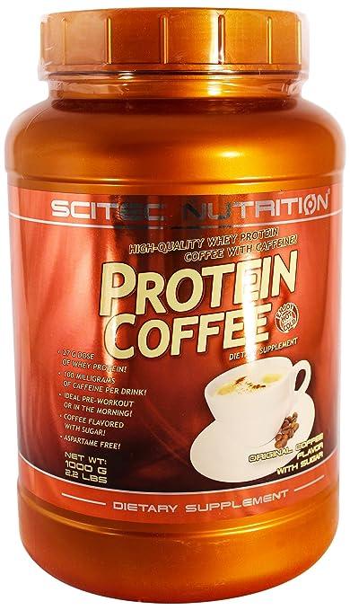 Scitec Nutrition Protein Coffee mit Zucker, 1er Pack (1 x 1 kg)