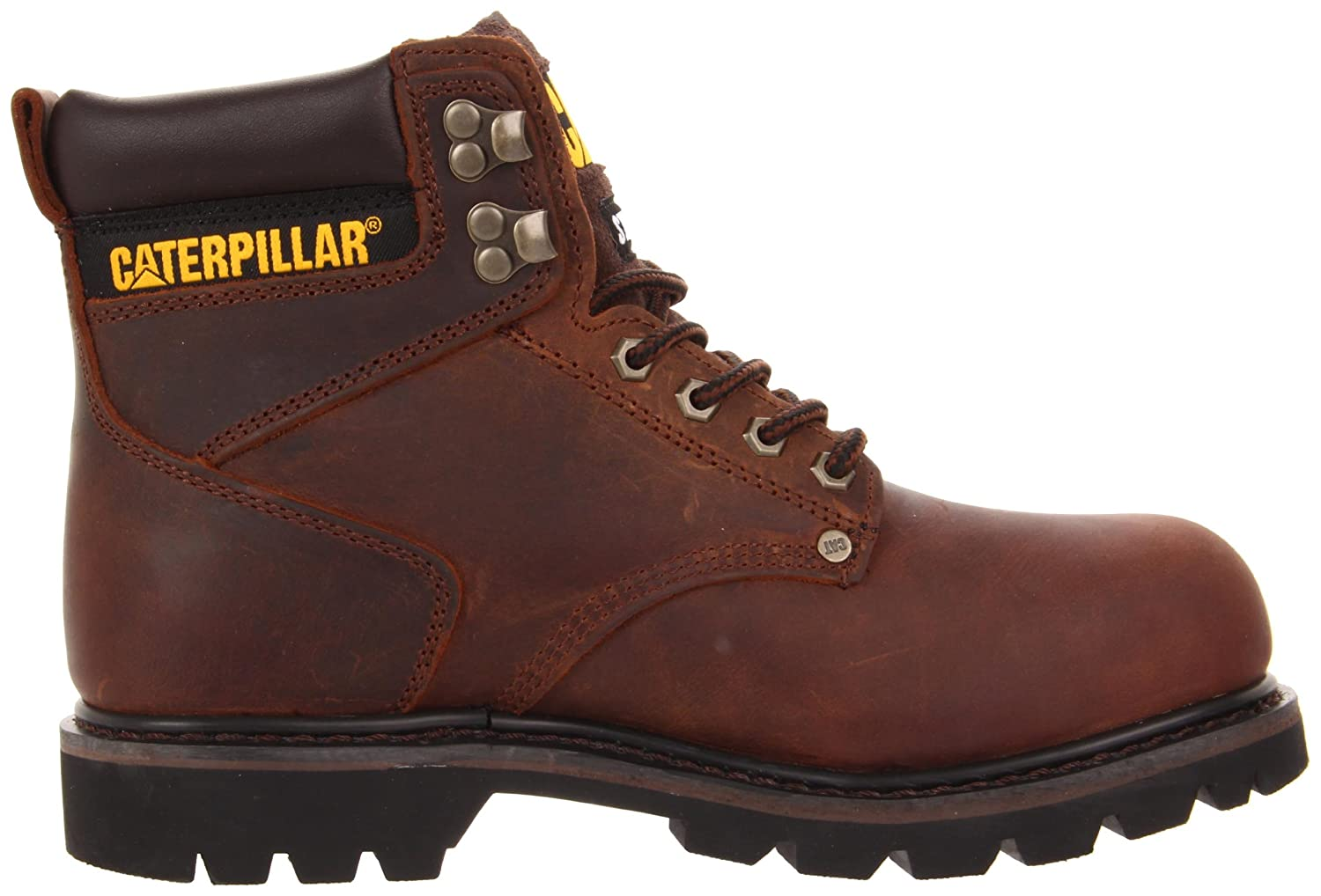 Caterpillar Men's Second Shift Steel Toe Work Boot: Industrial And Construction Shoes