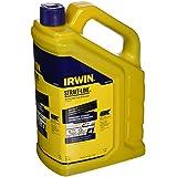 IRWIN Tools STRAIT-LINE Permanent Staining Marking Chalk, Indigo Blue, 4pound (4935524)