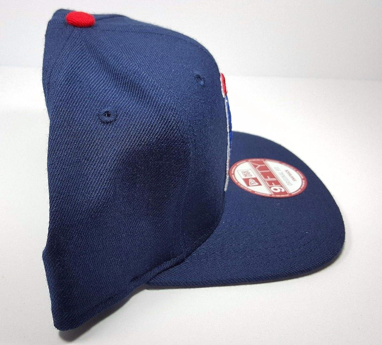 New Era New England Patriots 9Fifty Vintage Throwback Navy Blue Logo Adjustable Snapback Hat NFL 2