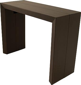 table console extensible 4 allonges allonges teinte weng cuisine maison m584. Black Bedroom Furniture Sets. Home Design Ideas