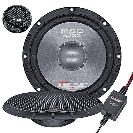 Mac audio 1107217 star flat 2.16) (système compo 2 voies de à 300 w