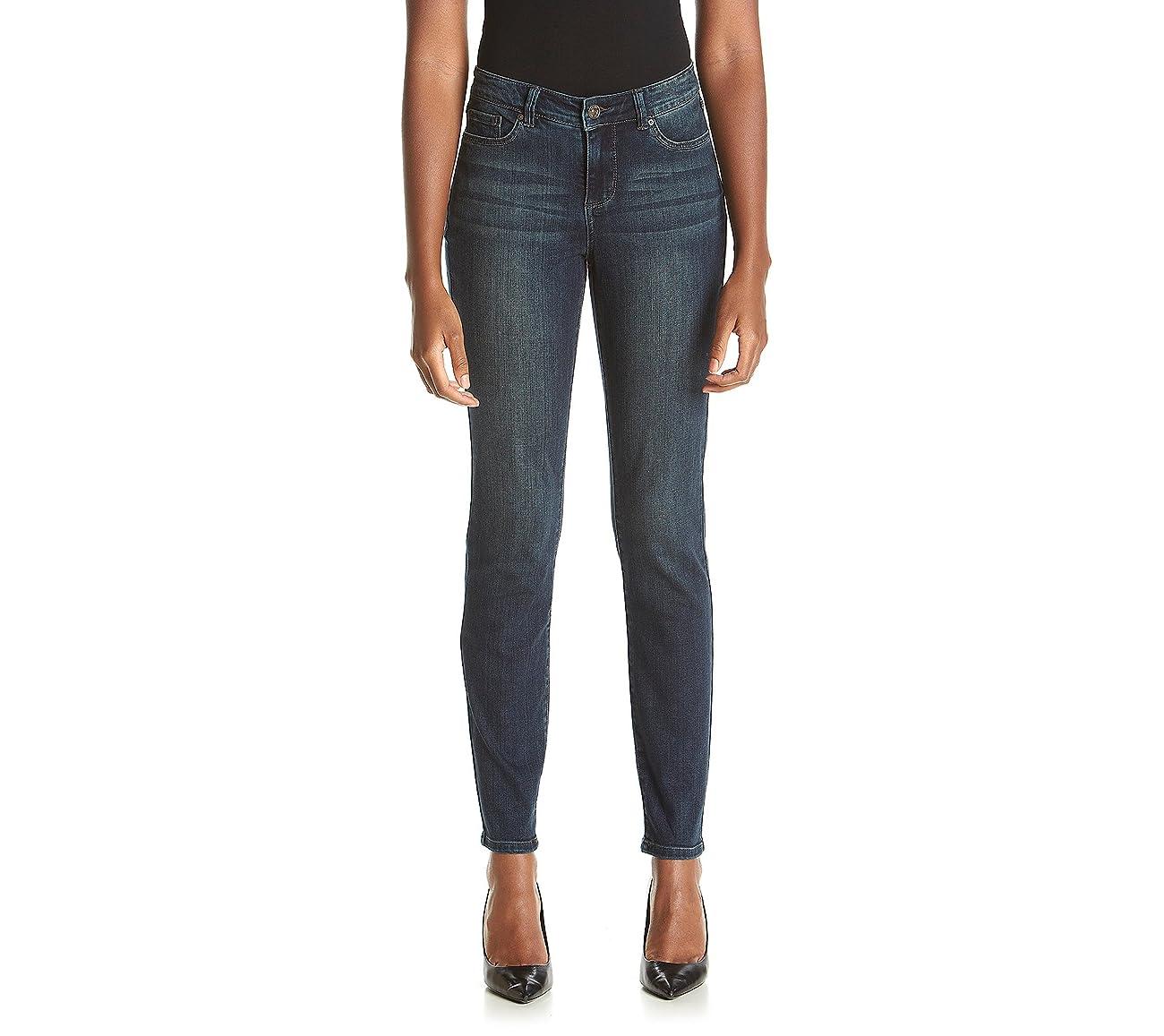 Vintage America Blues Women's Bohoskinny Straight Leg Jean 0