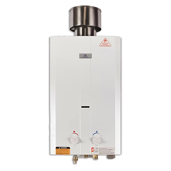 Eccotemp L10 Portable Tankless Water Heater, 2 Pack (Color: White, Tamaño: 2 Pack)
