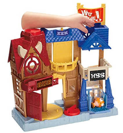 Monsters University Row Playset