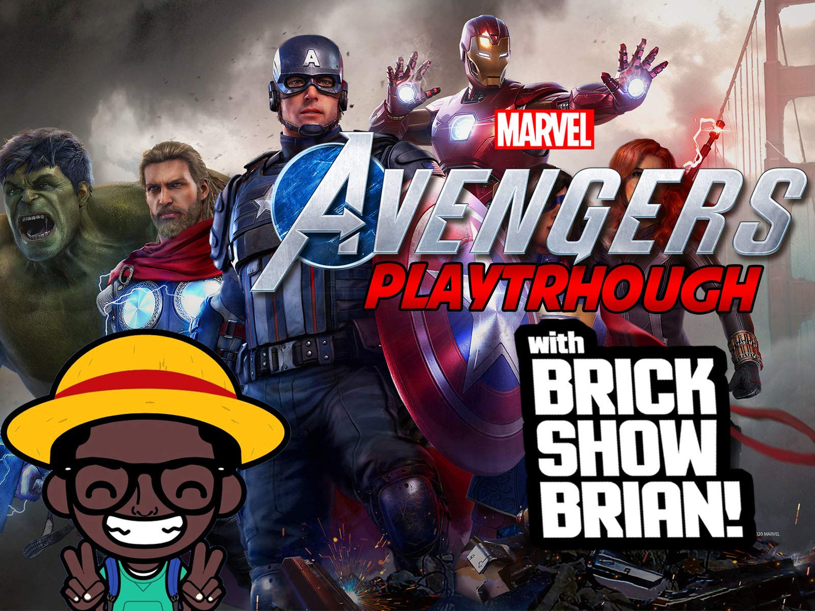 Marvel Avengers Playthrough With Brick Show Brian on Amazon Prime Instant Video UK