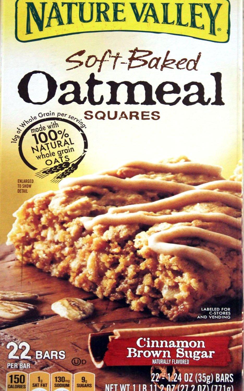 Nature Valley Soft-baked Oatmeal Squares - Cinnamon Brown Sugar - 22 Bars at Sears.com
