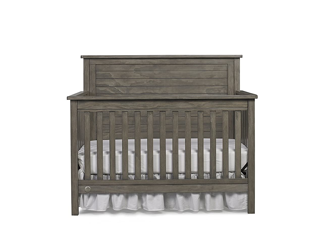 Fisher-Price Quinn 4-in-1 Convertible Crib, Vintage Grey 0
