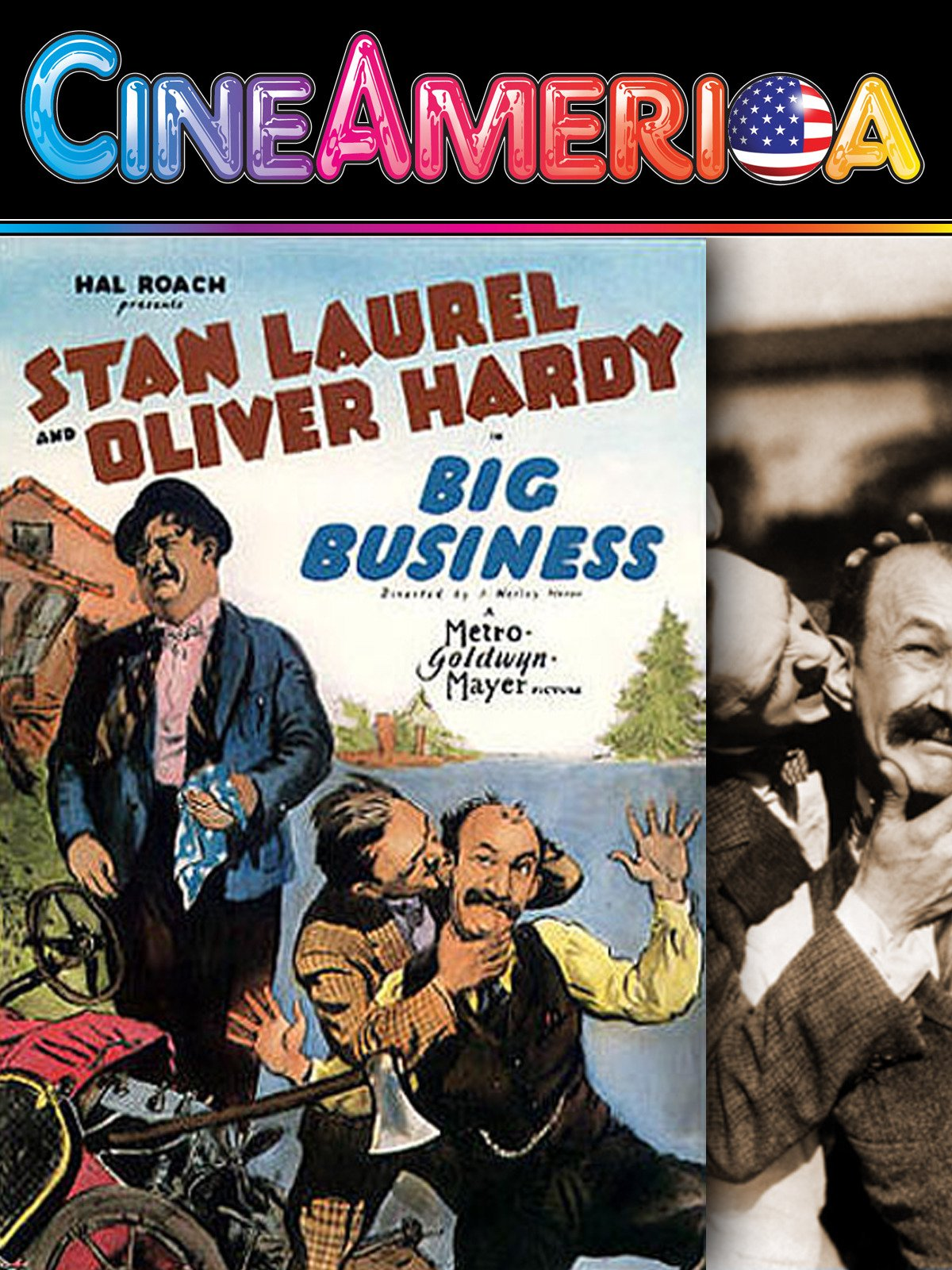 "Laurel and Hardy ""Big Business"""