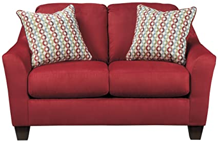 Hannin Spice Loveseat By Ashley Furniture