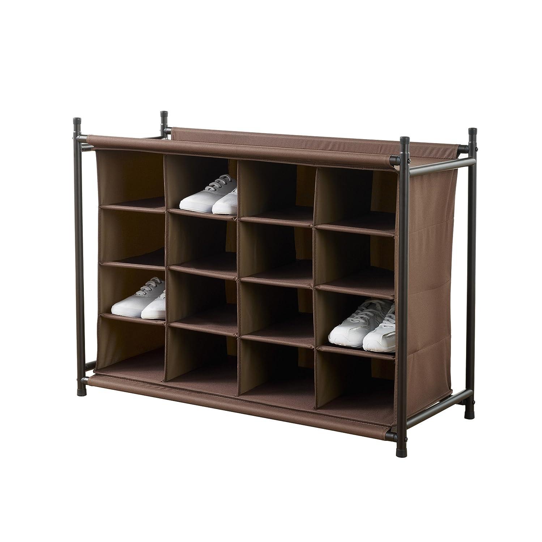 Shoe Organizer Compartments Closet Bedroom Mudroom Storage Rack Ebay