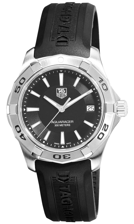 Đồng hồ chính hãng TAG Heuer Mens WAP1110. FT6029 Aquaracer Black Dial Watch.