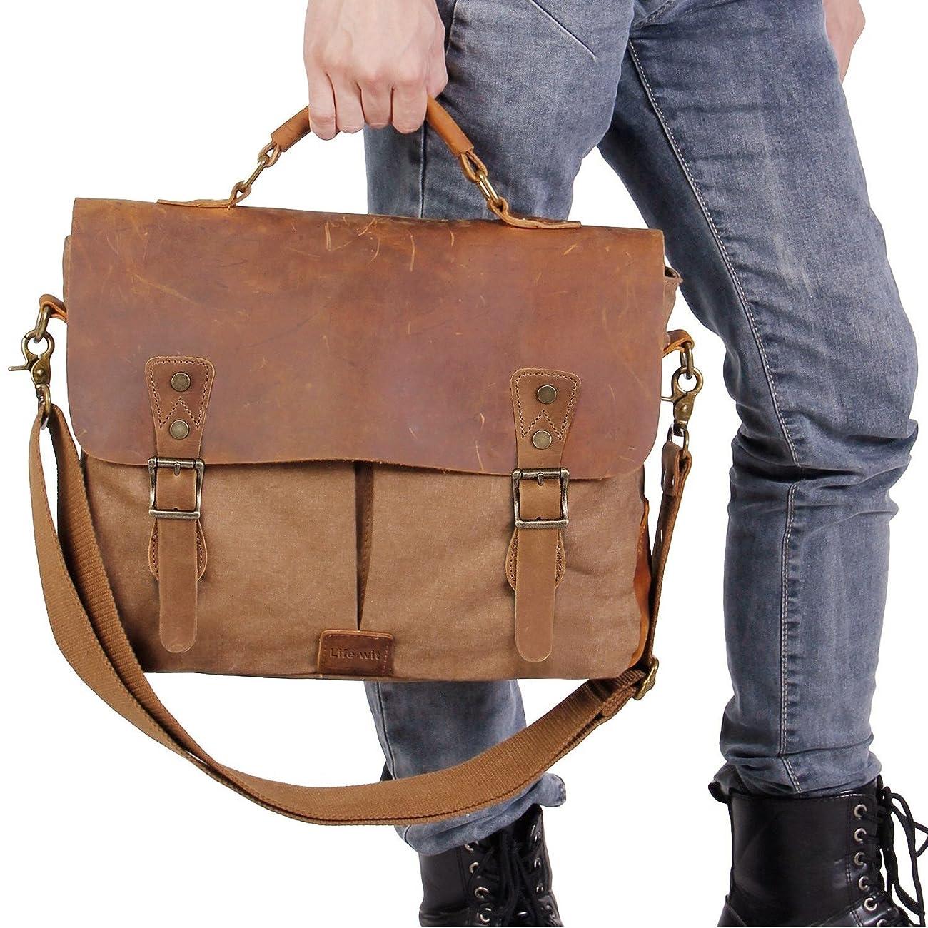 Langforth Genuine Leather Vintage 15.6 6