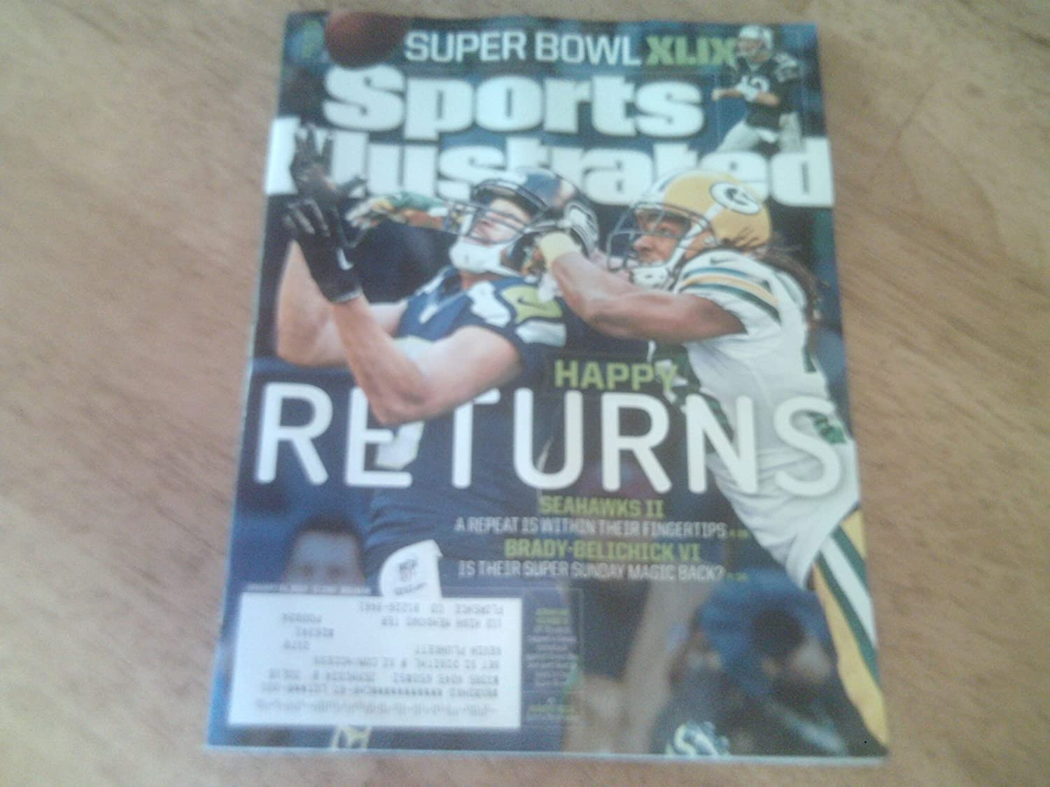 Sports Illustrated January 26 2015(SUPER BOWL XLIX)
