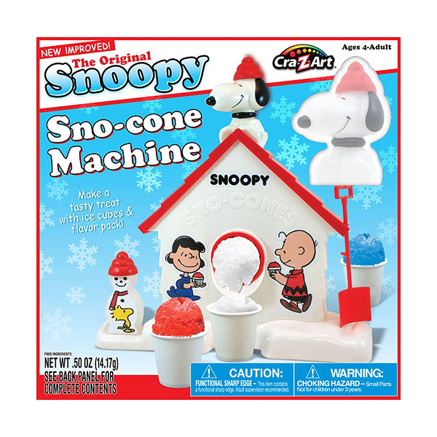 snoopy sno cone machine commercial
