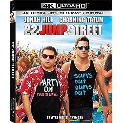 22 Jump Street [4K Ultra HD + Blu-ray]