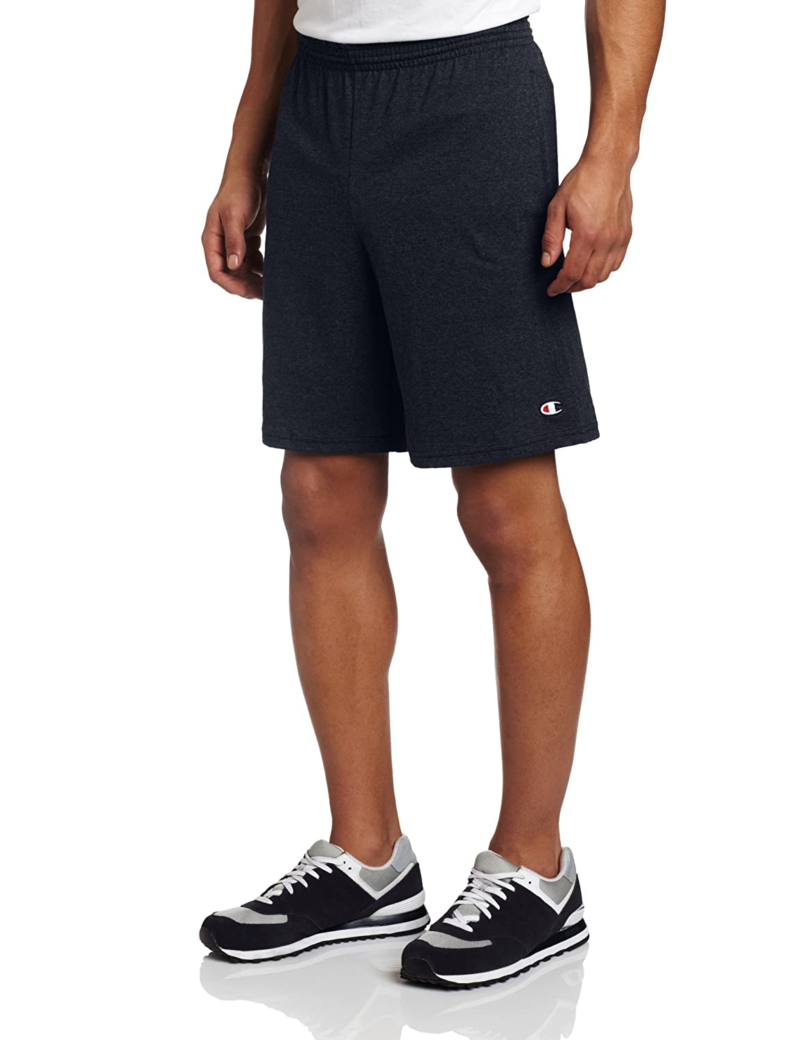 Champion Men's Jersey Short With Pockets газонокосилка бензиновая champion lm5127bs