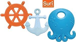Mayapple® Baby Suri® Octopus and Friends Teething Set