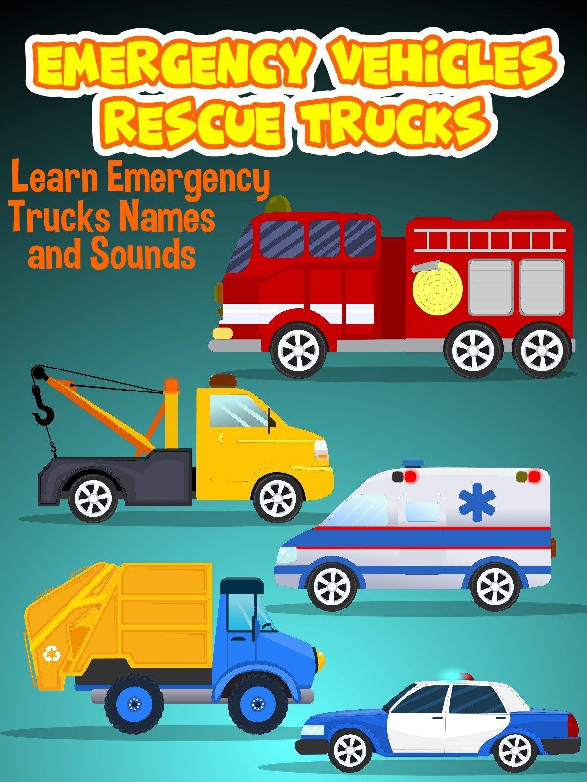 Emergency Vehicles Rescue Trucks on Amazon Prime Video UK