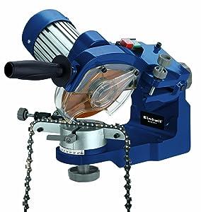 Einhell BGCS 235 E Sägekettenschärfgerät, 235 Watt, 3000 U/min, Tiefenbegrenzung, Spannvorrichtung, Beleuchtung  BaumarktRezension