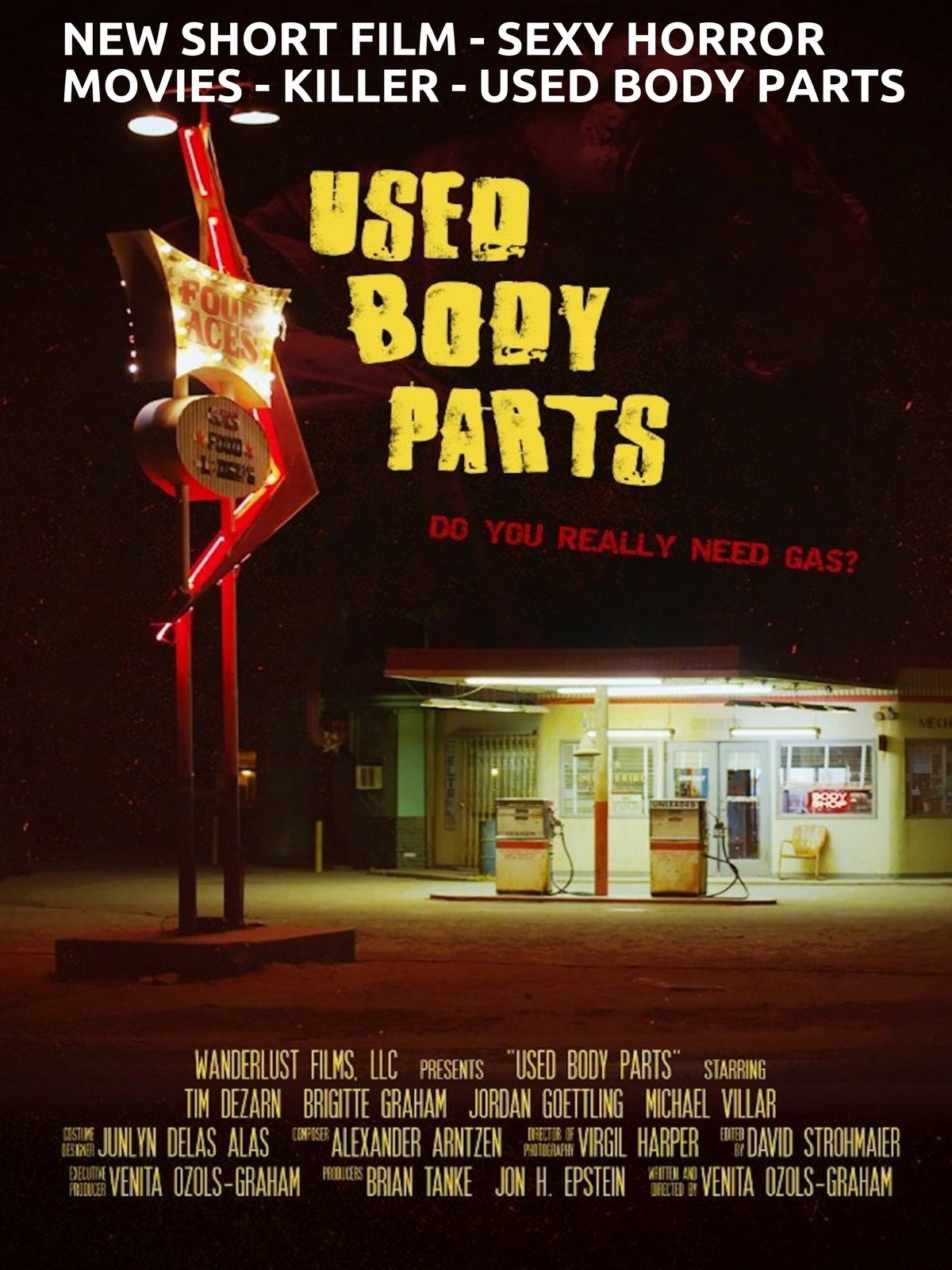 New Short Film - Sexy Horror Movies - Killer - Used Body Parts
