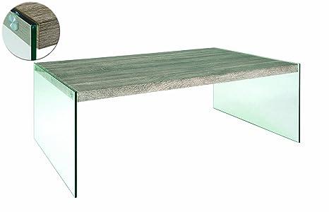 HAKU Möbel 87782 Couchtisch 110 x 70 x 40 cm, eiche truffel