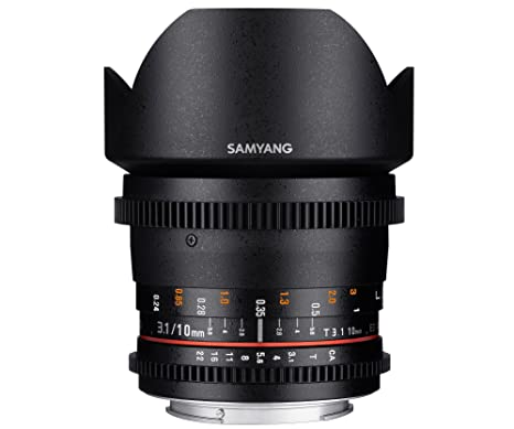 Samyang Objectif 10 mm T3.1 ED AS NCS CS VDSLR Micro 4/3
