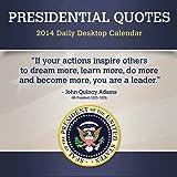 2014 Presidential Quotes Box Calendar