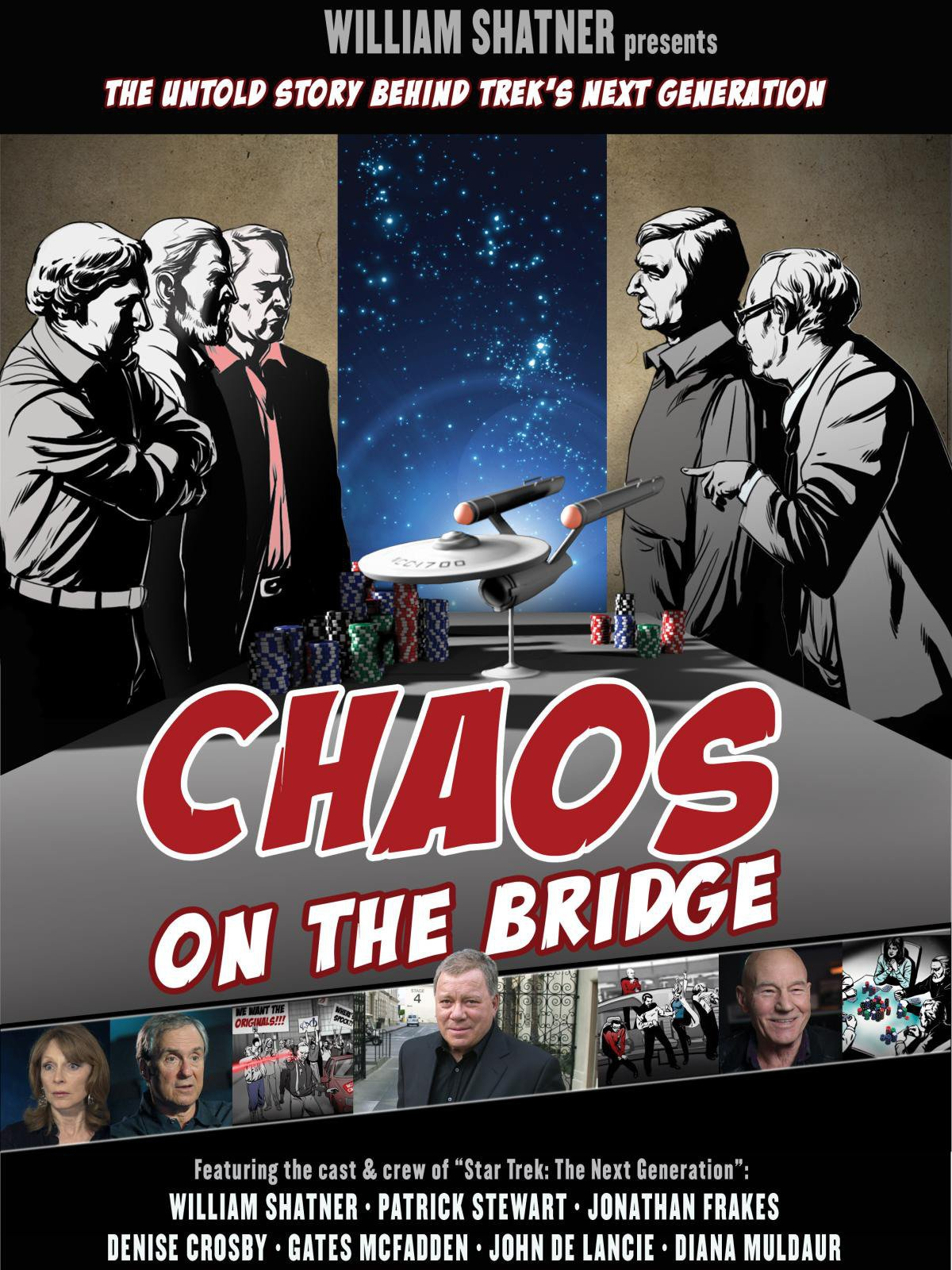 William Shatner's Chaos on the Bridge on Amazon Prime Video UK