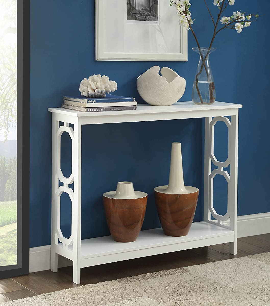 Convenience Concepts Omega Console Table, White