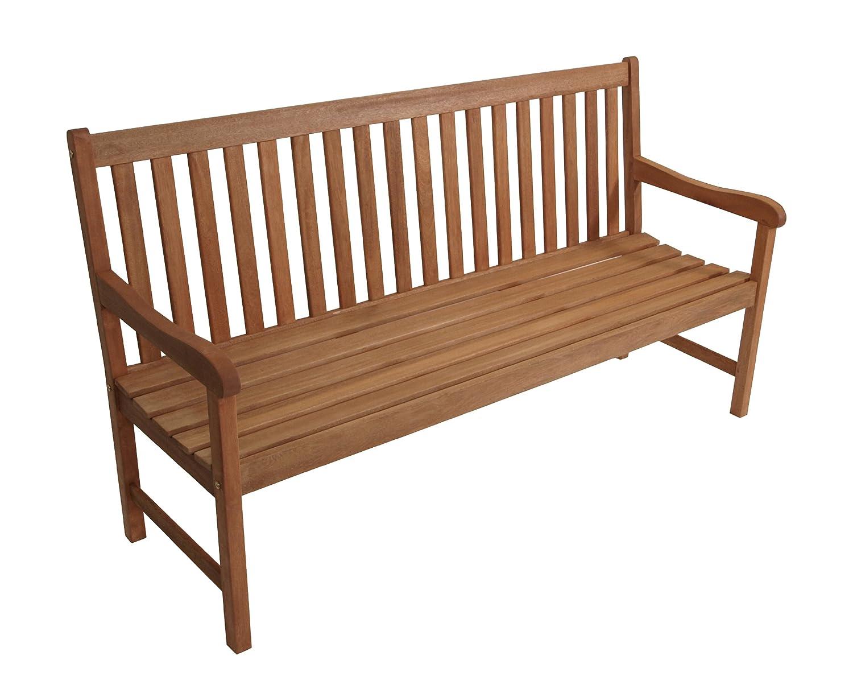 Gartenbank Santos 3-sitzer, Eukalyptus Hartholz, FSC®-zertifiziert