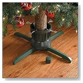 Rotating Christmas Tree Stand For Real Trees