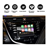 RUIYA 2018 Toyota Camry In-Dash Screen Protector, HD Clear Tempered Glass Car Navigation Screen Protective Film, AXVH70 AXVH70N Compatible with LE SE (7-Inch) (Color: Clear, Tamaño: 7-Inch)