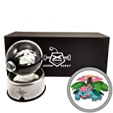 ScrewyRobot Crystal Ball 3D Night Light Color Changing Lamp 80mm (Mega Venusaur) (Color: Mega Venusaur, Tamaño: 80mm)