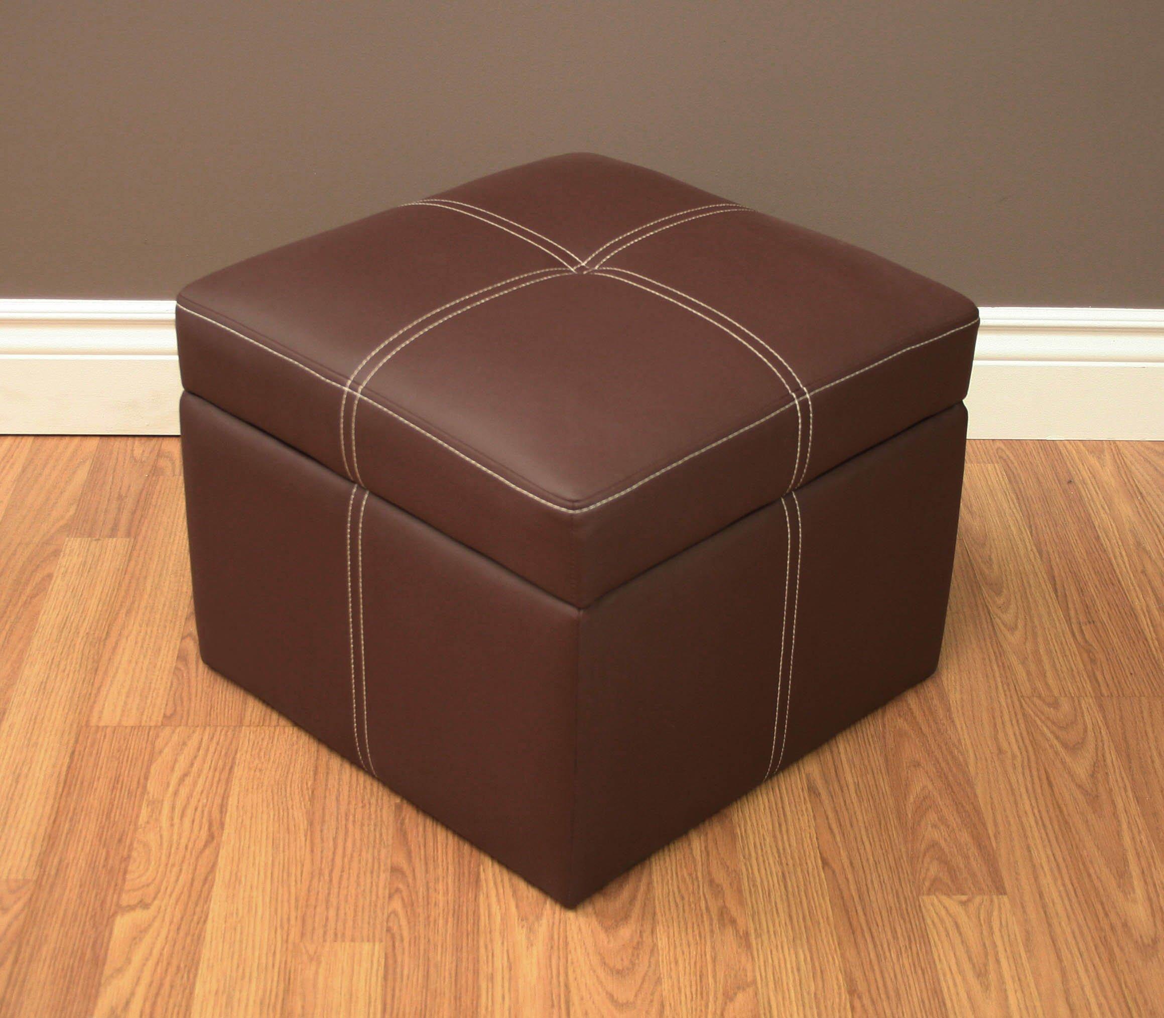 Dhp Delaney Small Square Ottoman Furniturendecor Com