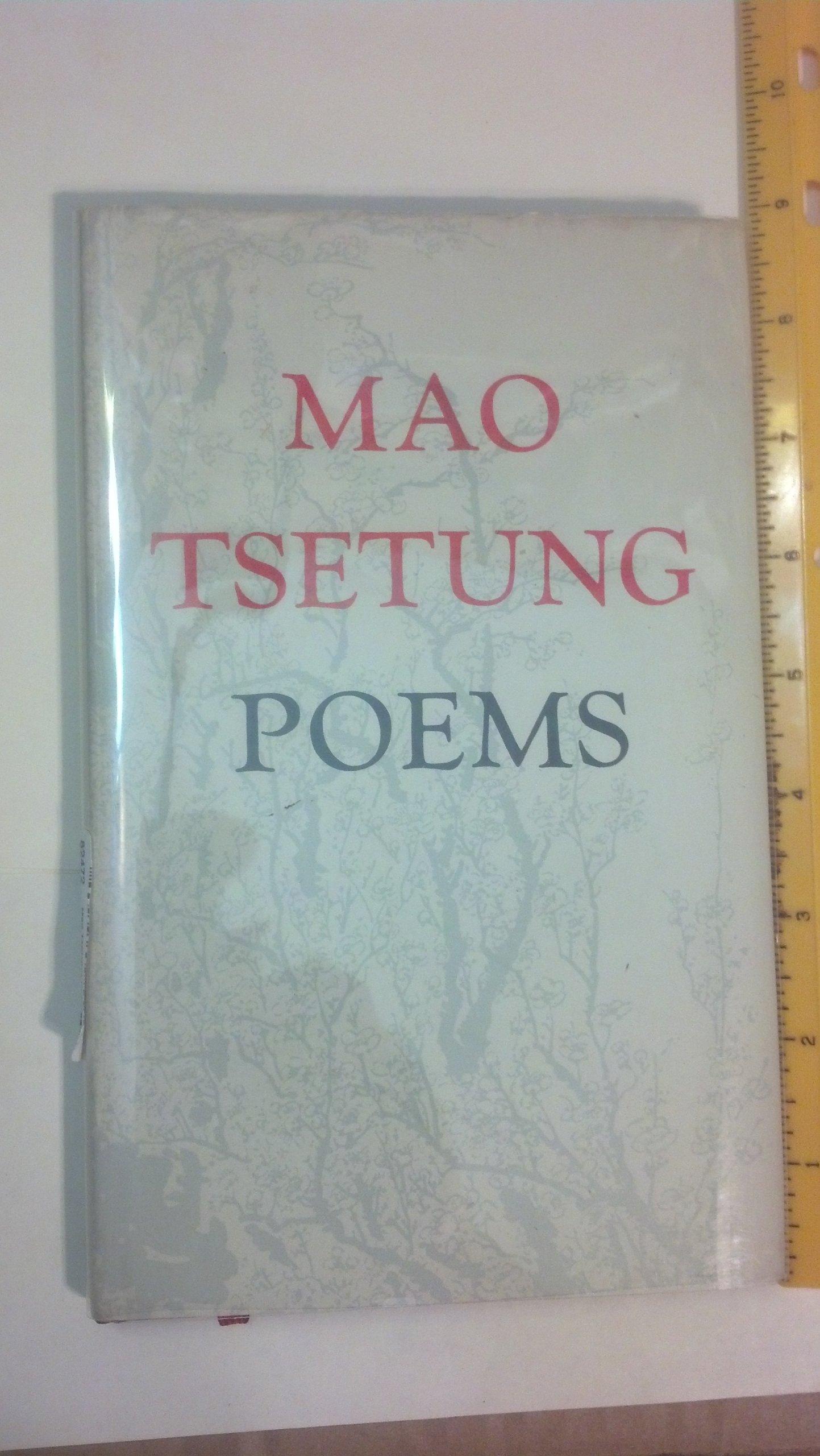 Mao Tsetung Poems, Mao Tsetung