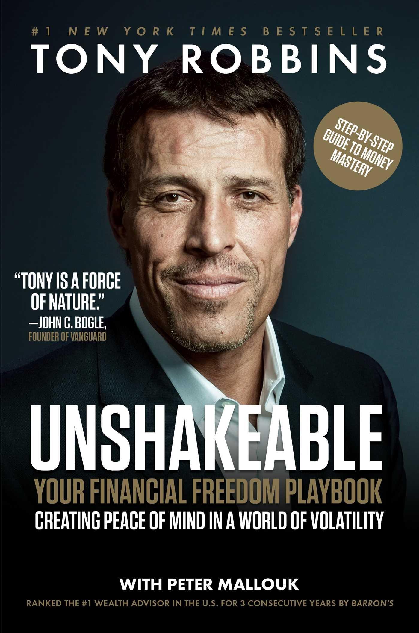 Buy Tony Robbins Unshakeable Now!