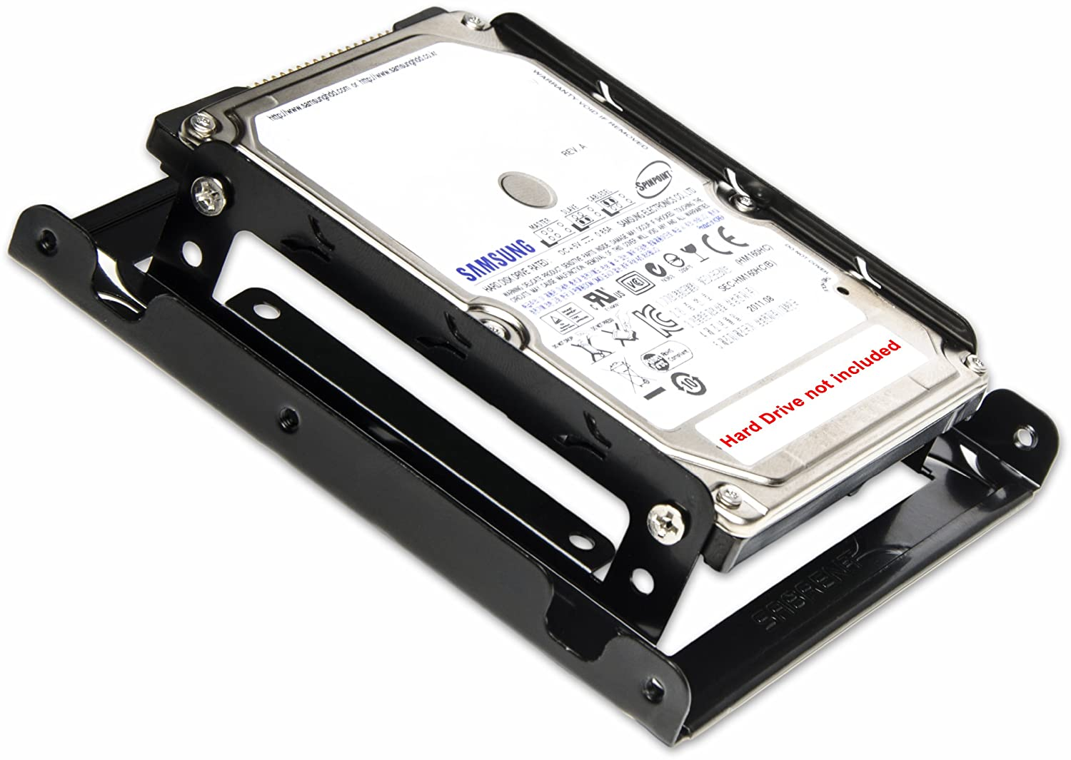 how to install new internal hard drive