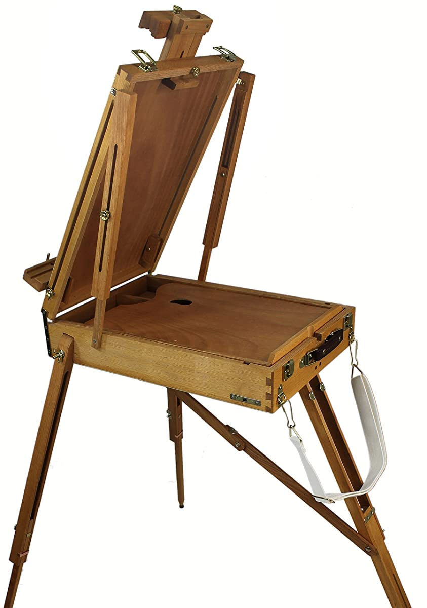 Our Sienna Artist Quality French Easel is Made from Hard Beechwood and is Hand Varnished