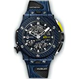 Hublot Big Bang Texalium Blue Carbon Unico Golf Limited Edition 416.YL.5120.VR (for The Golf Player) (Color: Black blue)