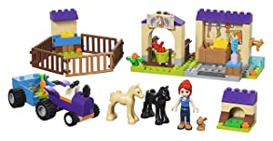 LEGO Friends 4+ Mia's Foal Stable 41361 Building Kit , New 2019 (118 Piece) (Color: Multi)