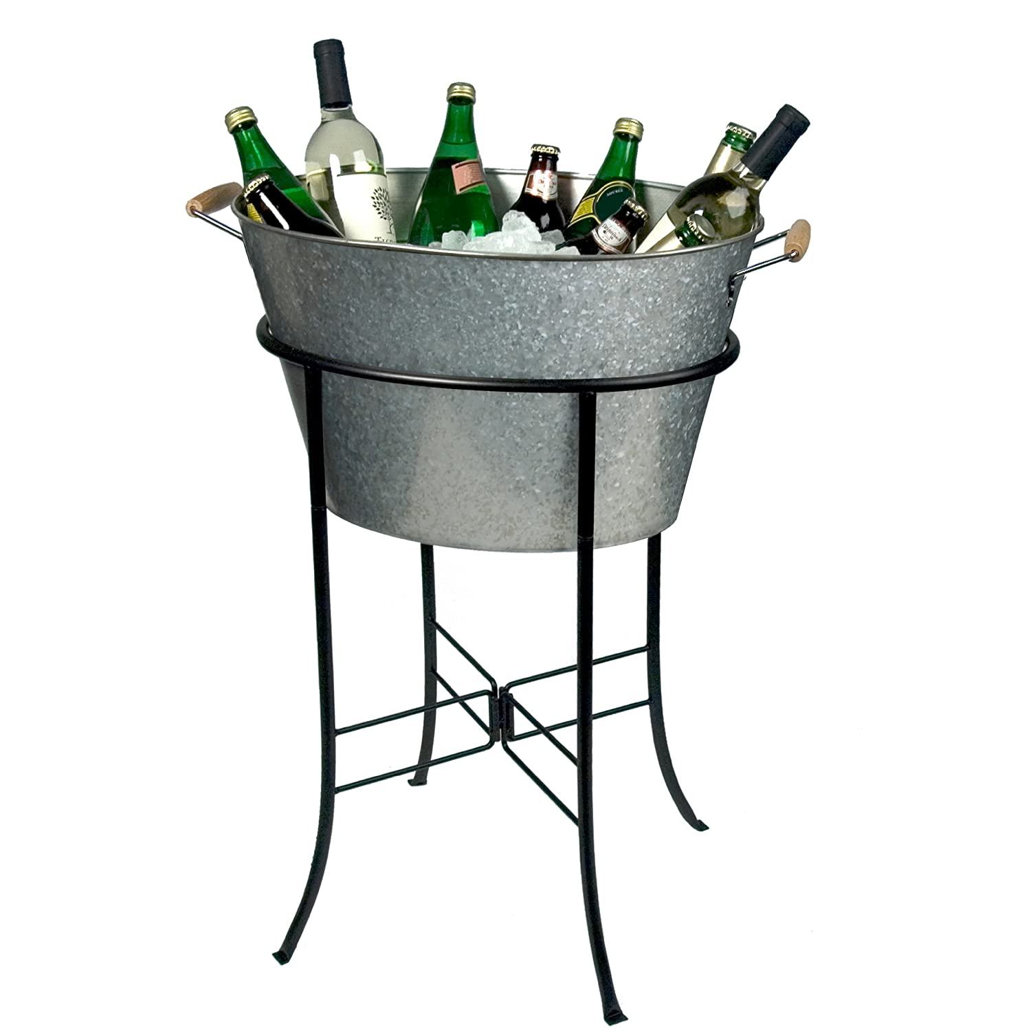 Cooler Bucket Stand Ice Chest Wine Bottle Tub Bar Beer